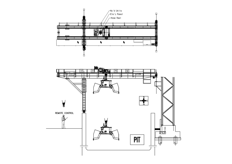 Self-Load Clamshell Bucket Installation Guide