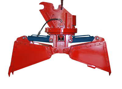 Round Hydraulic Clamshell Buckets - BEST International Equipment