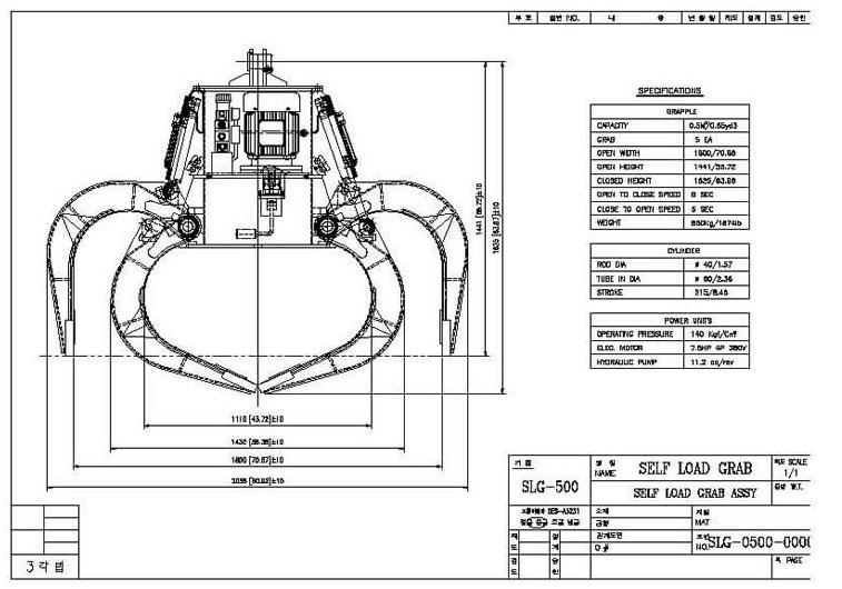 SLG-500 Drawing