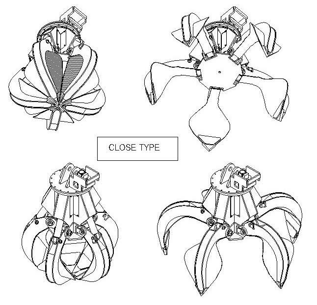 YM Series, Close Type Drawing